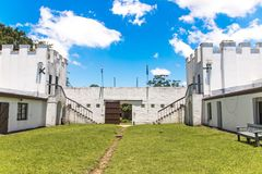 Fort Nongqayi National Monument Eshowe Zululand South Africa Royalty Free Stock Images