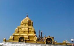 Eshwar beachshore för Murudeshwara tempelkundapura Fotografering för Bildbyråer