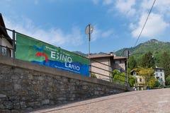 Esino Lario (913 m), Italië Royalty-vrije Stock Foto