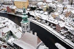 ?eský Krumlov Image stock