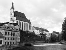 Český Krumlov in Bohemia Stock Images