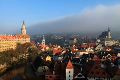 Český Krumlov Castle Royalty Free Stock Photos