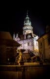 Český Krumlov castle Royalty Free Stock Photography