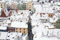 Český Krumlov Stock Photography