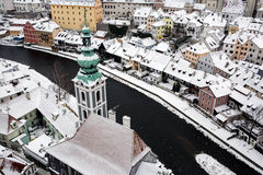 Český Krumlov Stock Image