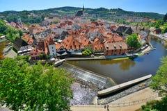 Český Krumlov. Czech Republic Royalty Free Stock Photography