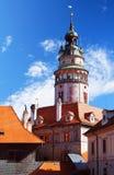 Český Krumlov tower Royalty Free Stock Image