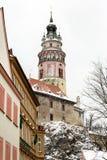 Český Krumlov tower Royalty Free Stock Images