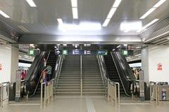 Eskalator Zdjęcia Royalty Free