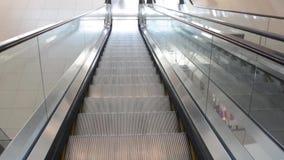 Eskalator zbiory wideo