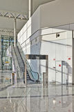 Eskalator dla pięcioliniowego tylko Obrazy Royalty Free