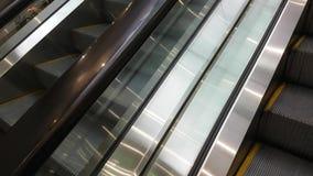 Eskalator drabina rusza się upwards zdjęcie wideo