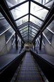 eskalator nowożytny Zdjęcie Stock