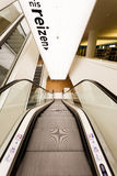 Eskalator w bibliotece publicznej Amsterdam Zdjęcie Stock