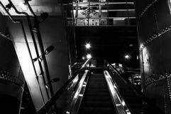 Eskalator w elektrowni, Baltimore, Maryland Zdjęcie Stock