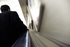 eskalatoru metro Obraz Stock