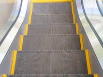 Eskalatoru schody Obrazy Royalty Free