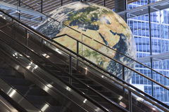eskalatoru świat Obraz Royalty Free