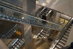 Eskalatory w Napoli Obraz Royalty Free