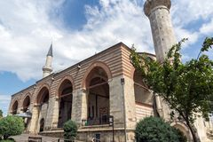 Eski Camii Mosque in the center of city of Edirne, East Thrace, Turkey stock photography