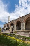 Eski Camii Mosque in the center of city of Edirne, East Thrace, Turkey stock images