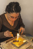 Jewellery robić Fotografia Stock