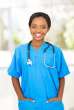 Żeński medyczny pracownik Zdjęcia Royalty Free