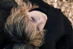 żeński portret Zdjęcia Royalty Free