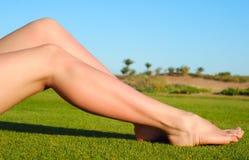 żeńskie nogi Zdjęcia Stock