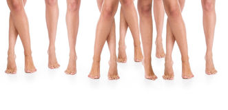 Żeńskie nogi. Zdjęcie Royalty Free
