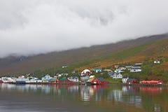 Eskifjordur, Islande Photo libre de droits