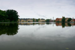 Eskilstuna, Sweden. Landscape of a River near Eskilstuna in Sweden Stock Photo