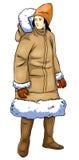 eskimo Royaltyfri Fotografi