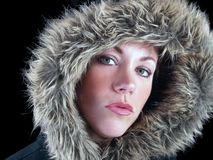 Eskimo girl Royalty Free Stock Photos