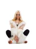 eskimo kvinnor Royaltyfria Bilder