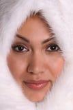 Eskimo Meisje 1 Royalty-vrije Stock Afbeeldingen