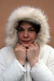 Eskimo meisje Stock Afbeeldingen