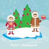 Eskimos holidays Stock Images