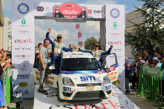 Eskisehir Rally 2016 Royalty Free Stock Image