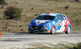 Eskisehir Rally 2016 Royalty Free Stock Photo