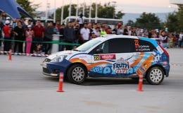 Eskisehir Rally 2016 Royalty Free Stock Images
