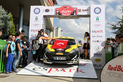 Eskisehir Rally 2016 Royalty Free Stock Photography