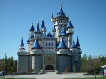 Eskisehir Sazova Park Dream Castle Stock Photo