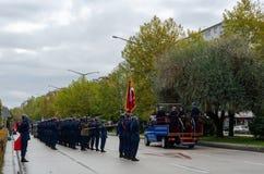 Eskisehir, Turquia-outubro 29,2017: Celebração do 94th Anniv imagem de stock royalty free
