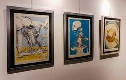 Eskisehir, Turquie - 4 mars 2017 : Exposition à l'AR contemporaine Photos stock