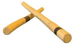 Eskrima sticks stock image