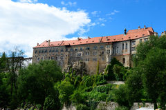 ?esky Krumlov Photos stock