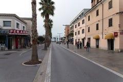 Eslovênia, cidade velha de Koper Foto de Stock
