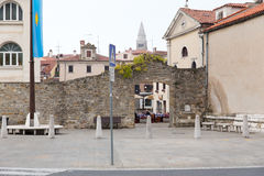 Eslovênia, cidade velha de Koper Fotografia de Stock