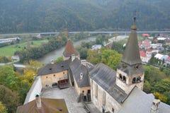 eslovaquia Castillo de Orava Imagenes de archivo